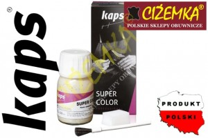 KAPS SUPER COLOR FARBA DO SKÓR I SYNTETYKÓW 25 ml 82 KOLORY