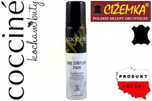 1x COCCINE SHOE STRETCHER FOAM ROZCIĄGACZ W PIANCE SPRAY 75 ml
