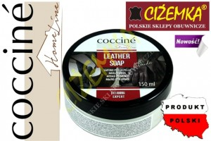 COCCINE LEATHER SOAP SOFT FORMULA MYDŁO CZYSZCZĄCE DO SKÓR 150 ml