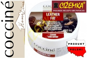 1X COCCINE HOME LINE LEATHER FAT TŁUSZCZ DO SKÓR 150 ml + gąbka