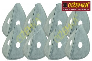 8X FILTR DO MASKI ANTYSMOGOWEJ ACTIVE CARBON AIR PM 2,5 , PM 10