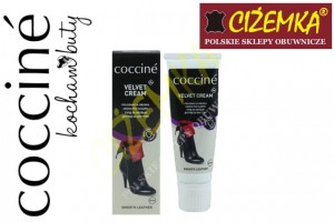 COCCINE VELVET KREM CREAM DO SKÓR BEZBARWNY W TUBCE 75 ml